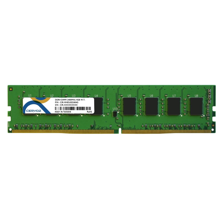 4GB Industrial DDR4 DIMM 2400MHz