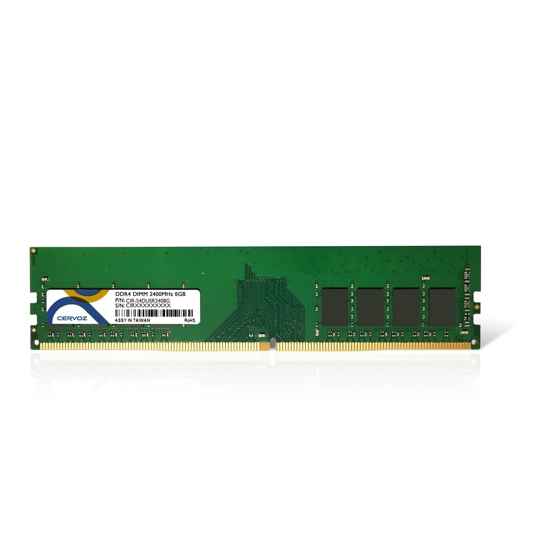 8GB Industrial DDR4 DIMM 2400MHz