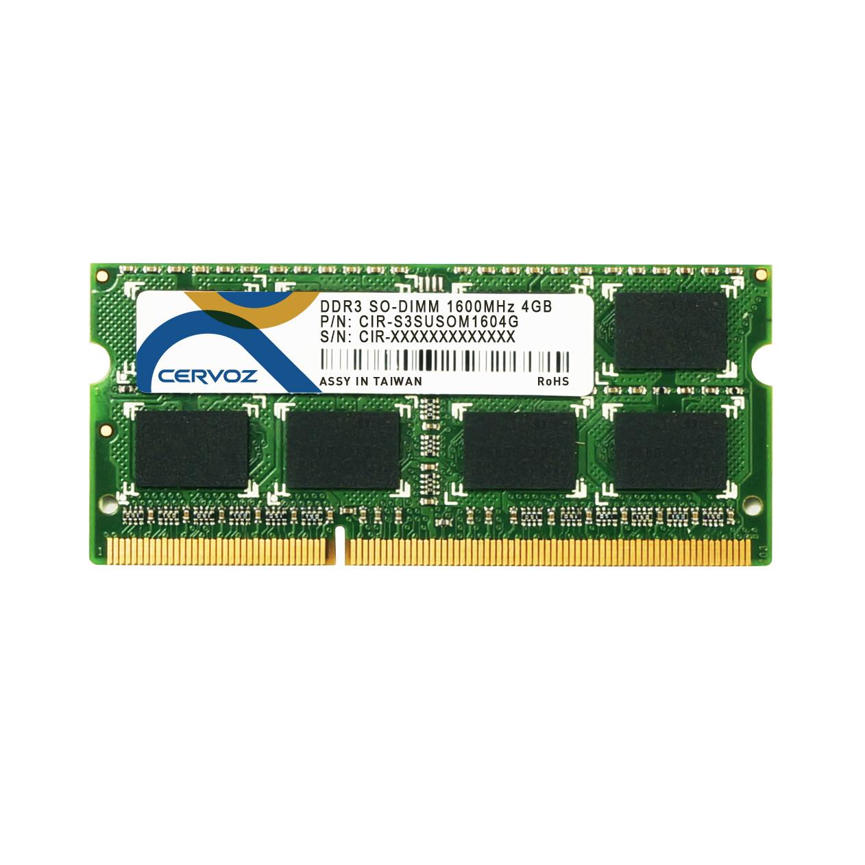 4GB Industrial DDR3 SO-DIMM 1600MHz