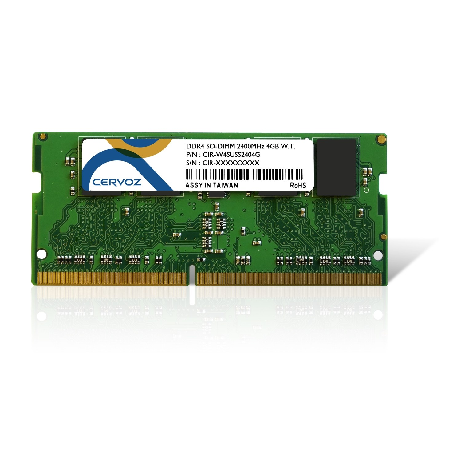 4GB Industrial DDR4 SO-DIMM 2400MHz