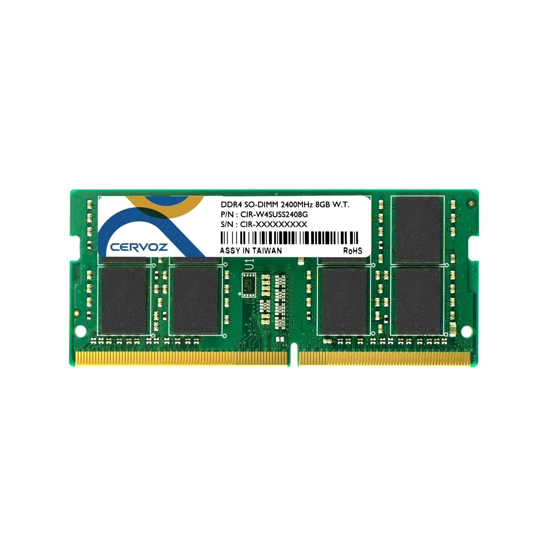 8GB Industrial DDR4 SO-DIMM 2400MHz