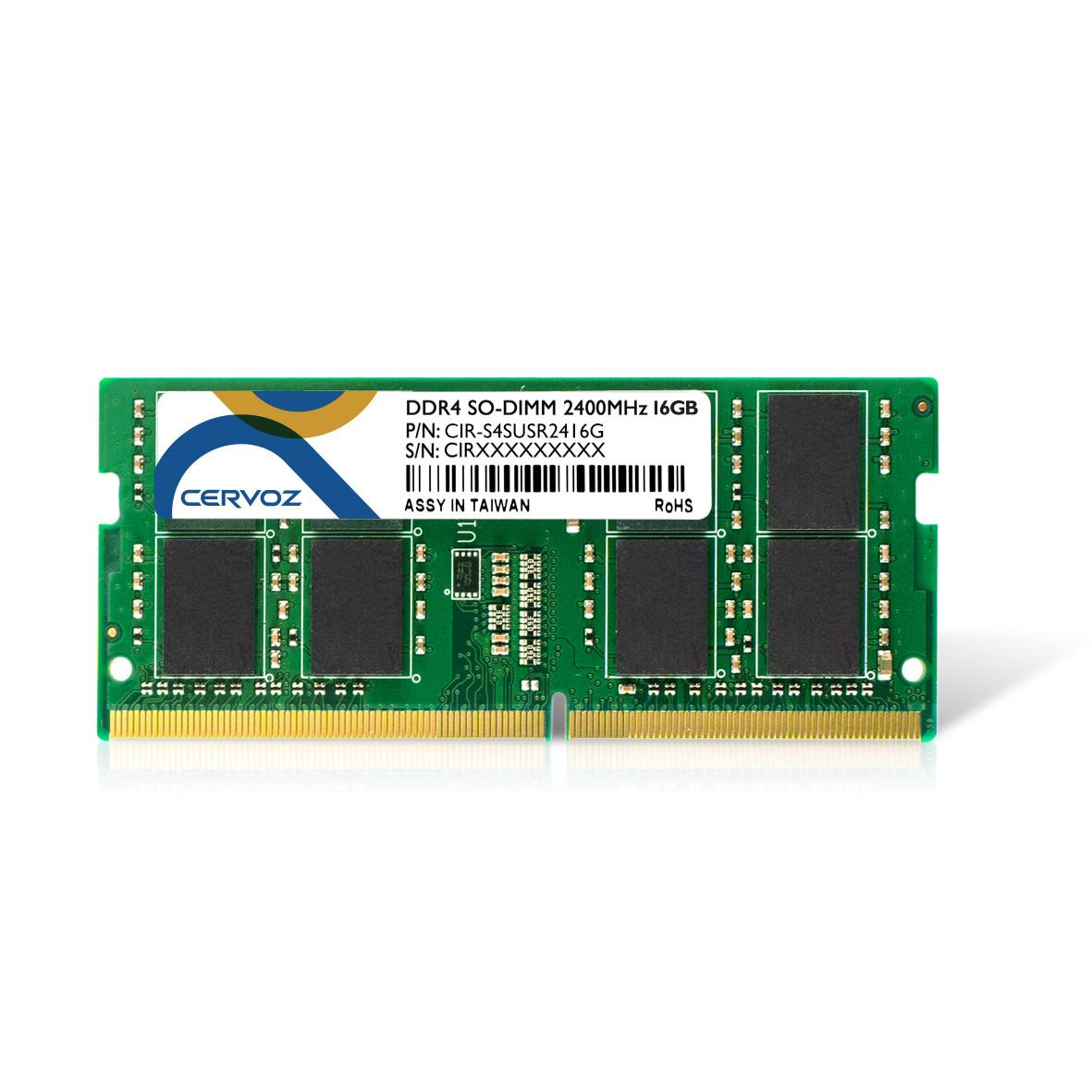 16GB Industrial DDR4 SO-DIMM 2400MHz