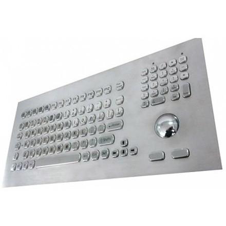KB021 klávesnice s trackballem do panelu