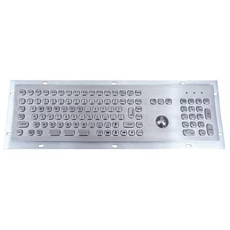 MKB704 klávesnice s trackballem do zástavby