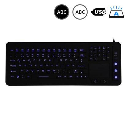 SK311 - silikonová klávesnice s touchpadem, CZ