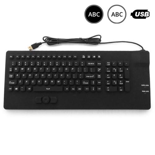 SK301 - silikonová klávesnice s trackpointem