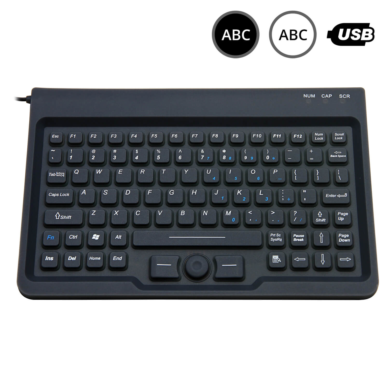 SK303 - silikonová klávesnice s trackpointem
