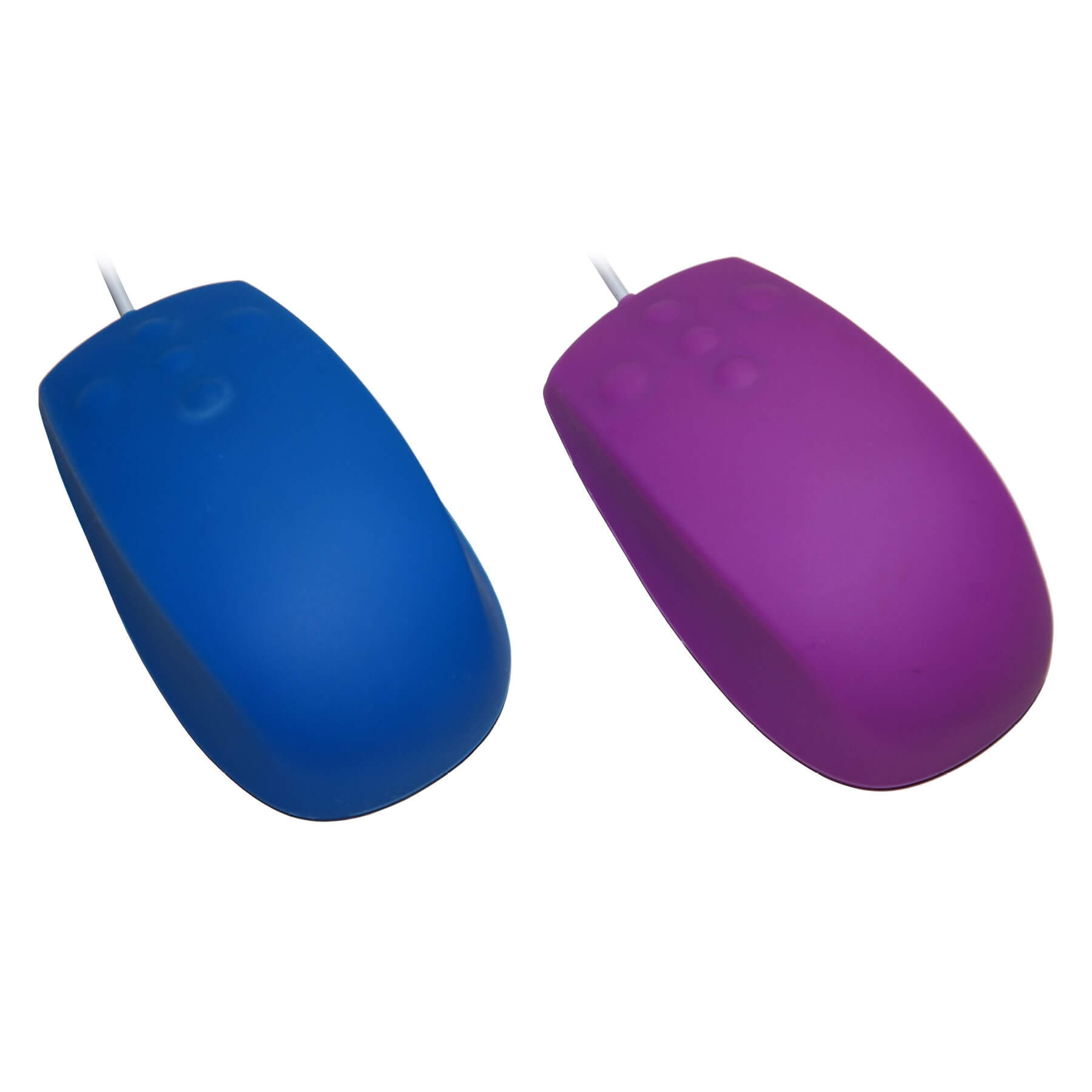 SM502 - silikonová myš, bílá