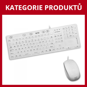 Medicínské klávesnice a myši