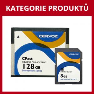 Průmyslové paměťové a CF karty