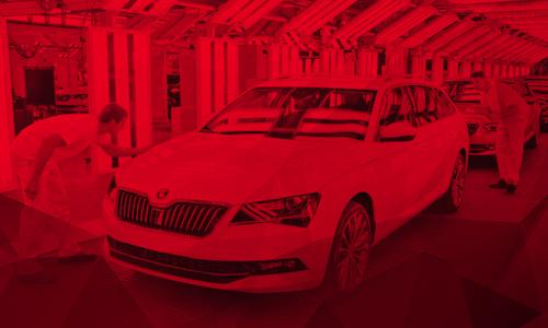 Místo papíru dotykové obrazovky. Škoda Auto k digitalizaci výroby využívá počítače AutoCont IPC